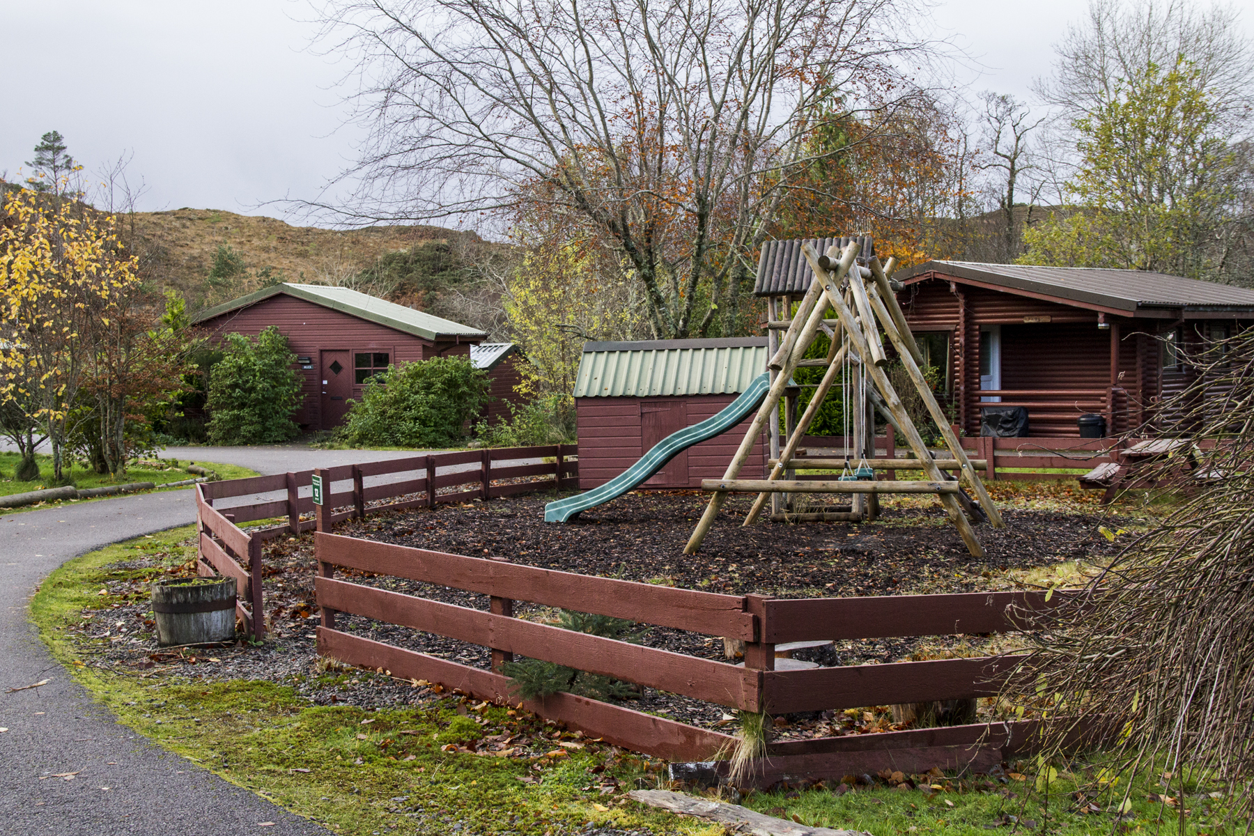 Canadian Style Log Cabins In The Highlands And Isle Of Skye